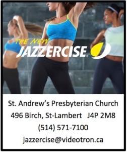 Jazzercise Ad