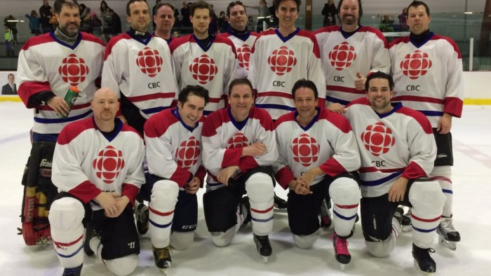 CBC Montreal hockey team laces up for annual exercise in futility